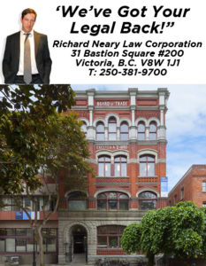 richard neary criminal, divorce and personal injury law victoria bc